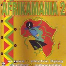 Afrikamania 2 - Cd Partial Sealed 1991 Afrobeat Discomagic Records
