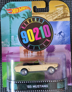 2014 HOTWHEELS - Retro Entertainment E - BEVERLY HILLS 90210 - '65 Mustang 1:64