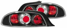 Peugeot 306 Convertible 1992-2002 Clear Black Rear Back Tail Lexus Lights - Pair