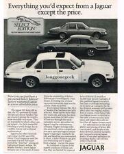 1988 Jaguar XJ6 Series III Sedan, XJ-S, Vanden Plas Vtg Print Ad