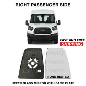 Ford Transit 250 350 Mirror Large Glass Non Heated Right Passenger 2014-2018