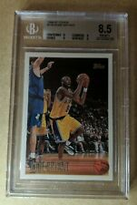 1996-97 Topps Kobe Bryant RC BGS 8.5 W 3 9 Subs Regrade? LAKERS