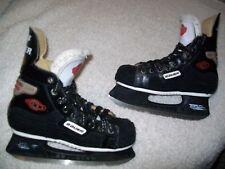 Bauer Gs900 Ice Hockey Skates Men'S Size 4 Nice Shape, Nhl Quality Great Skates