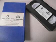 BMW VHS Video Cassette Tape 1993 Battle of The Legends 2 #I