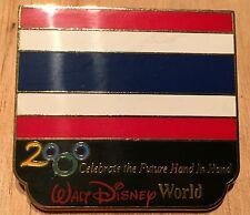Millennium Village WDW Flag Pin Thailand Pavilion 2000 Disney Pin