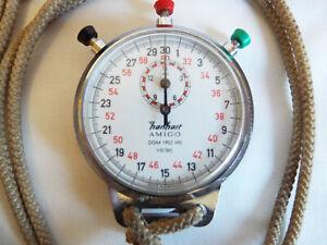 GWO vintage Hanhart Amigo 1/10 second stopwatch