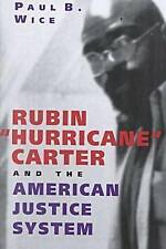 "NEW Rubin ""Hurricane"" Carter and the American Justice System by Paul B. Wice"