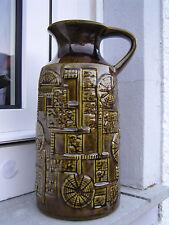 Bay Keramik 60er 70er Bodo Mans Design Vase Modell 256 25 Narvik Spinnennetz TOP