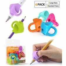 Firesara Pencil Grips, Upgrade Large Size Kids Three Fingers Fixed Correction