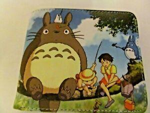 Totoro Bi-Fold Wallet  #TO299 (NEW)