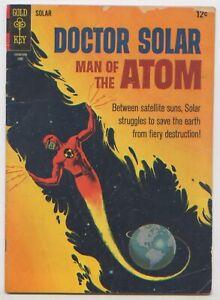 Comic Book Doctor Solar, Man of the Atom #16 Jun 1966, Gold Key