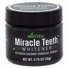 Miracle Teeth Whitener As Seen On TV Natural Teeth Powder Carbon Organic
