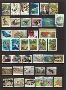 Australia Nature/Birds/Animals used stamps selection