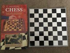 CHESS SET Gareth Williams Chess Set.Book,Full Set Chessmen, Full Size Boars 1999