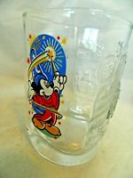 Walt Disney World Mickey Mouse Wizard McDonald's Epcot Anniversary 2000 Glass