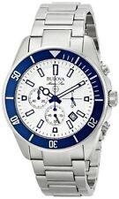Bulova Men's Round Wristwatches with Chronograph