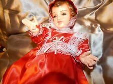 vestido super sencillo Ropa Nino Dios, baby Jesus clothes set medida en cms