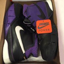Nike Zoom Kobe I 1 Blackout Sz 13 Black White Purple Yellow Og Iv Iii Vi V Asg X