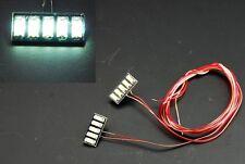Truck Tagfahrlicht Dachlicht SMD LED Beleuchtung Modell 5-fach weiss 7,2 volt