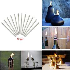 Fiberglass Spirit Paraffin Or Oil Lamp Wick Round Oil Lamps Petroleum Wax Burner