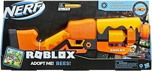 NERF Roblox Adopt Me! BEES! Lever Action Dart Blaster Brand New