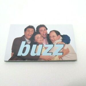 Seinfeld Scene It DVD Game Replacement Parts Pieces- 16 Buzz Cards