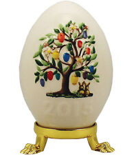 Goebel 2015 Annual Easter Egg Nib Easter Eggs Tree New In Box 110305