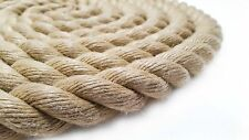 Rope, Synthetic hemp Polyhemp for Gardens & Decking & Boating  24mm All lengths