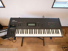 YAMAHA SY77 Music Synthesizer with original case,demo disk new belt of FD!