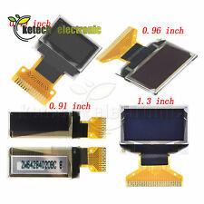 "0.49""/0.91""/0.96""/1.3""OLED Display Module IIC I2C/SPI Interface SSD1306 L2KE"
