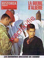 Historia magazine guerre d'Algérie n°357 Charonne Tripoli