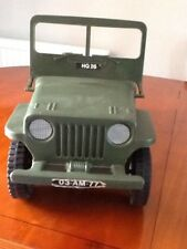 Action Man Jeep con caja de cartón Palitoy 1975