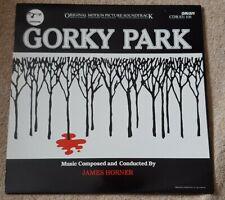 GORKY PARK SOUNDTRACK VINYL LP - JAMES HORNER