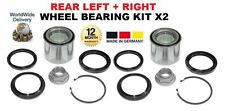 FOR SUBARU FORESTER TURBO 1997--> NEW 2X REAR LEFT + RIGHT WHEEL BEARING KIT SET