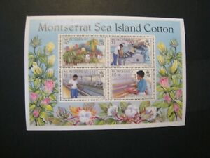 Montserrat assortment of s/s lot of 13 MNH OG