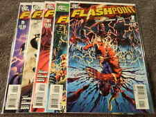 2011 DC Comics FLASHPOINT #1-5 Complete 1st Appe. Thomas Wayne As BATMAN - NM/MT