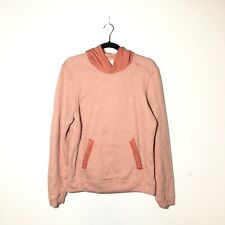 LULULEMON Men's Orange Pullover Hoodie Size S
