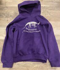 Stranger Things Brontosaurus Thunder Lizard Purple Hoodie Sweatshirt Child S 5-6