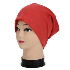 NEU Jersey Slouch Beanie Damen Herren Mütze Long Baumwolle Mützen Trend Unisex