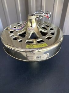 "Hunter Original 52"" Ceiling Fan Motor - USA Made, 2.0 Amp, Bright Brass, Works!"