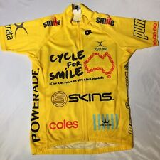Champ-sys Small Race Cut Cycling Jersey Australia Cycle For Smile Full Zip Nice