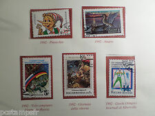 RUSSIA, RUSSIE, LOT timbres THEMES EVENEMENTS, oblitérés, VF used  STAMPS