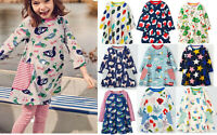 Dress girls Mini Boden jersey print swing tunic top various prints all age 2-12