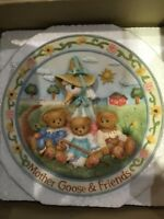cherished teddies Mother Goose And Friends Nursery Rhyme Plate 170968