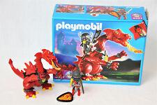 PLAYMOBIL Drache mit Drachenritter (3327) - OVP vollständig komplett neuwertig