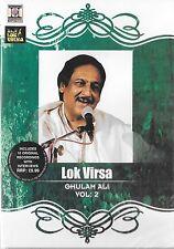 GHULAM ALI - LOK VIRSA VOL 2 - BRAND NEW SONGS DVD