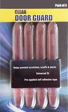4 x CLEAR Flexible Rubber Door Boot Guard Protectors (DG06) MC18/10