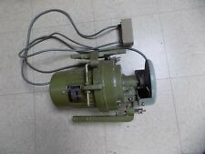 Clutch Style Industrial Sewing Machine Motor 110v Single Phase With Switch