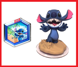 ☆ STITCH WITH TROPICAL RESCUE POWER DISC ~ DISNEY INFINITY 2.0 FIGURE ☆BUY3GET1☆