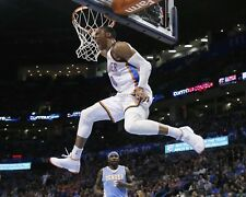 RUSSELL WESTBROOK OKLAHOMA CITY THUNDER POINT GUARD - 8X10 PHOTO (RT117)